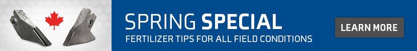 fertilizer tip spring special